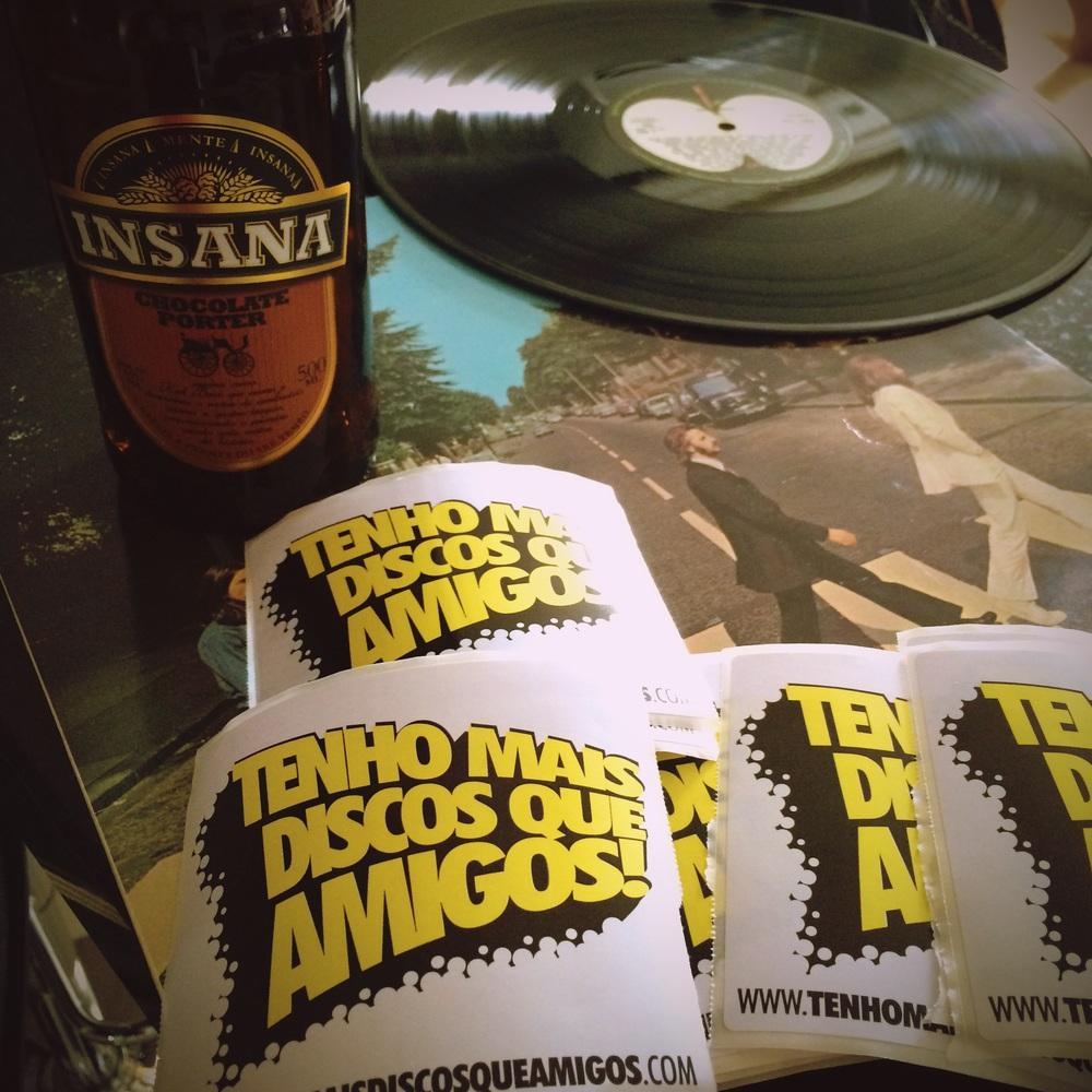 A Insana-Tenho Mais Discos Que Amigos será uma Witbier com casca de laranja e coentro (Foto: Divulgação)