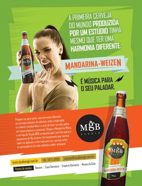Mandarina Mandarina Weizen, cerveja de trigo filtrada com dry hopping de lúpulo Mandarina (Foto: Divulgação)