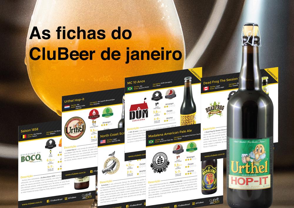 Fichas complementam a experiência de degustação das cervejas doskits oferecidos no mês, que incluem opções brasileiras, belgas e da América do Norte