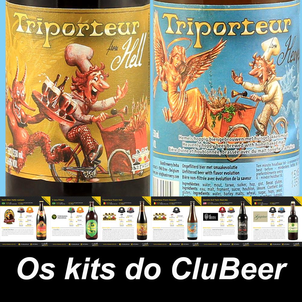 No mês do Carnaval, duas cervejas internacionais levam bom humor para o kit Gambrinus