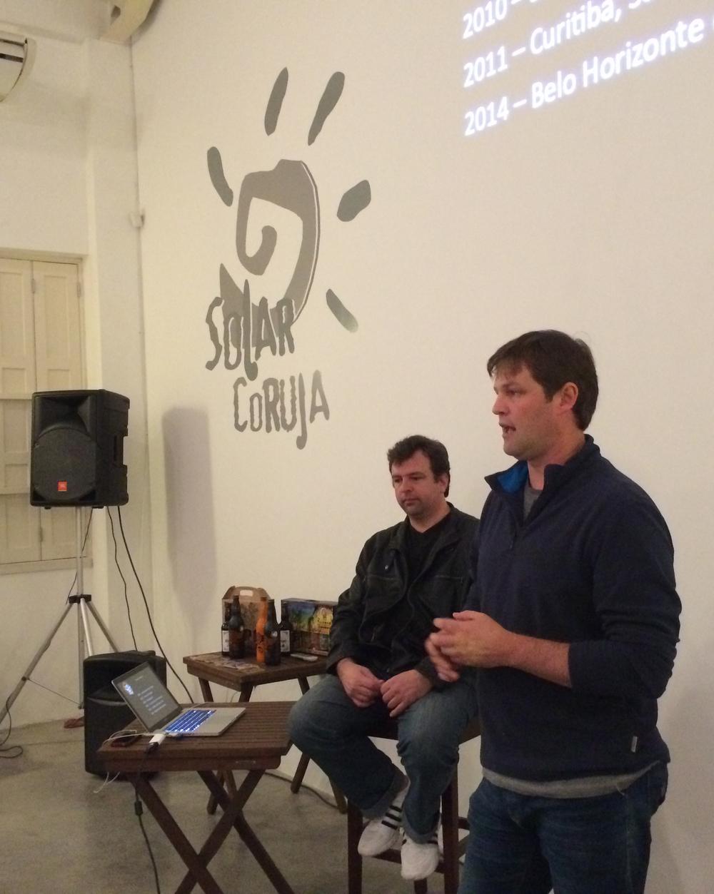 Rafael e Micael, os fundadores da Coruja (Foto: Altair Nobre/Beer Art)