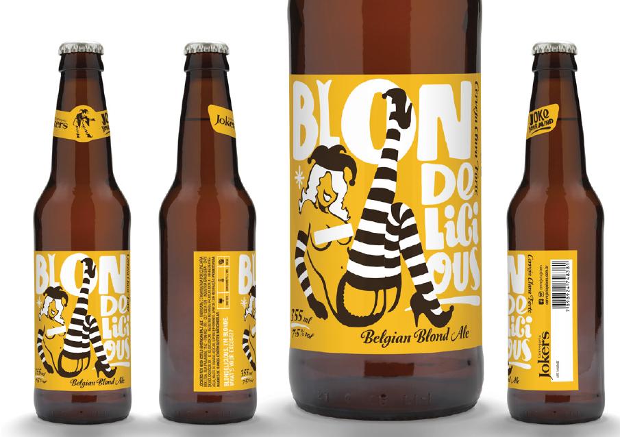 Belgian Blond Ale é o segundo lançamento da cervejaria curitibana (Foto: Divulgação)