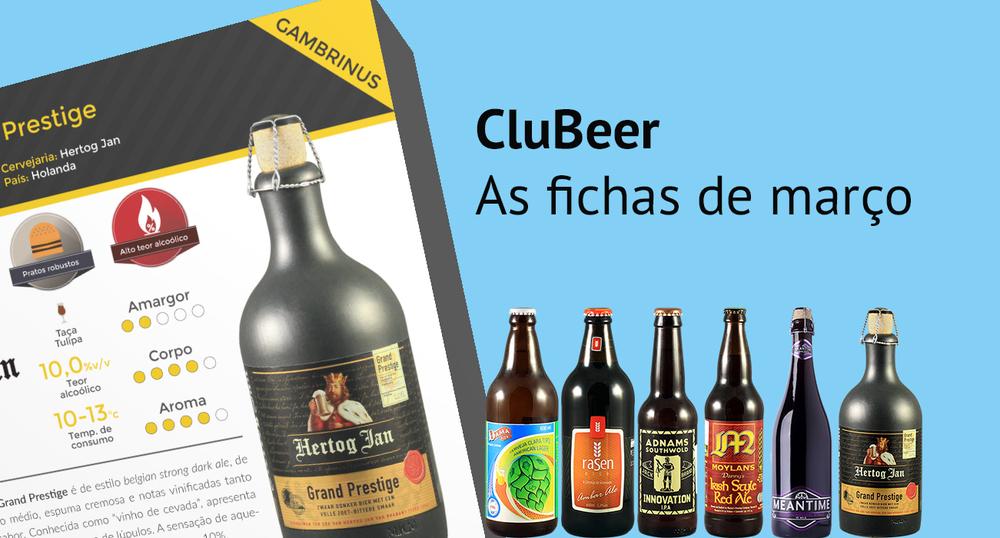 Confira as fichas com as características das cervejas