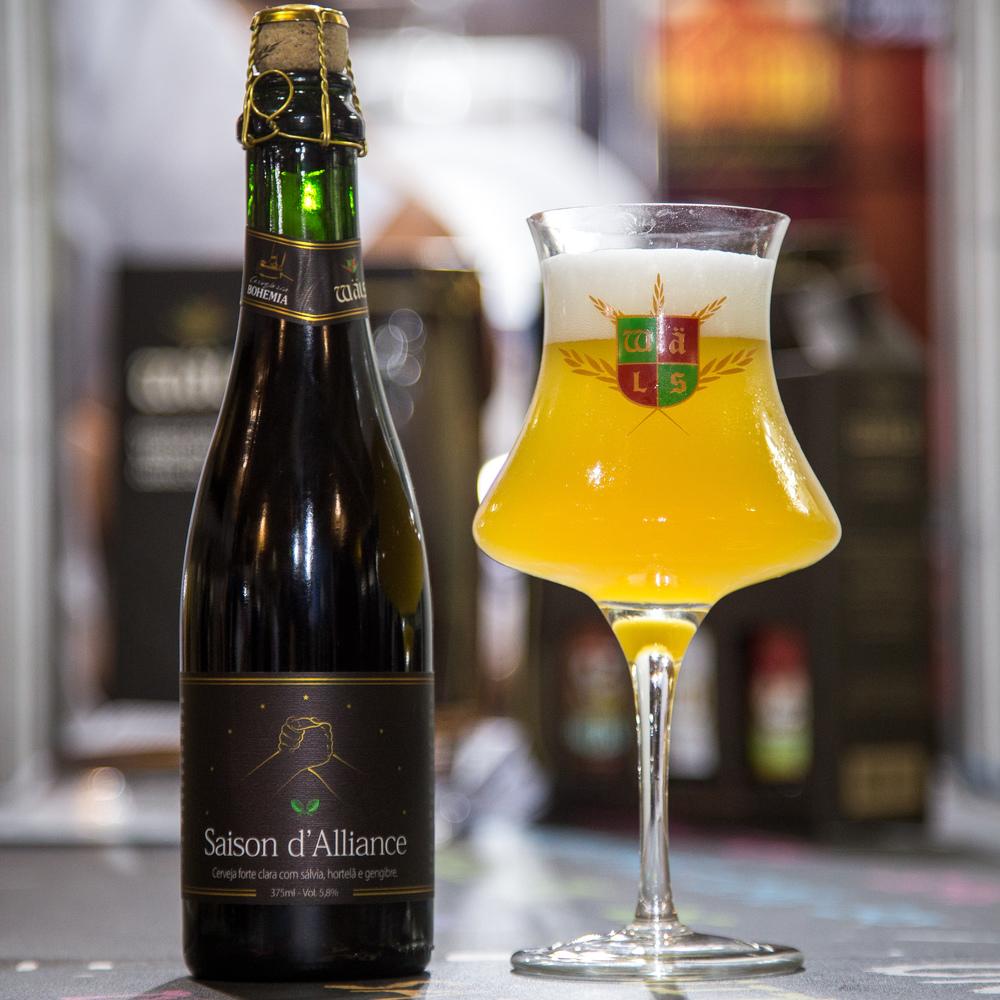 O primeiro fruto da aliança Wäls/Ambev (Foto: Ricardo Jaeger/Beer Art)
