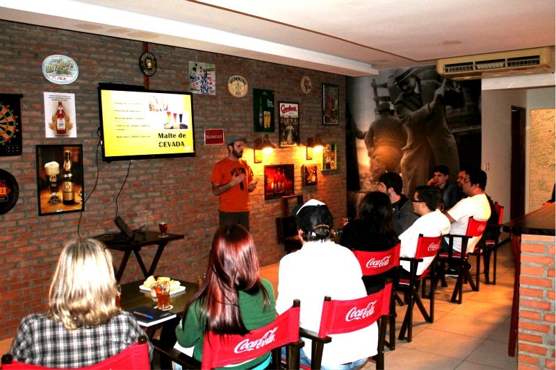 Curso ministrado em Blumenau/SC (Foto: Divulgação)