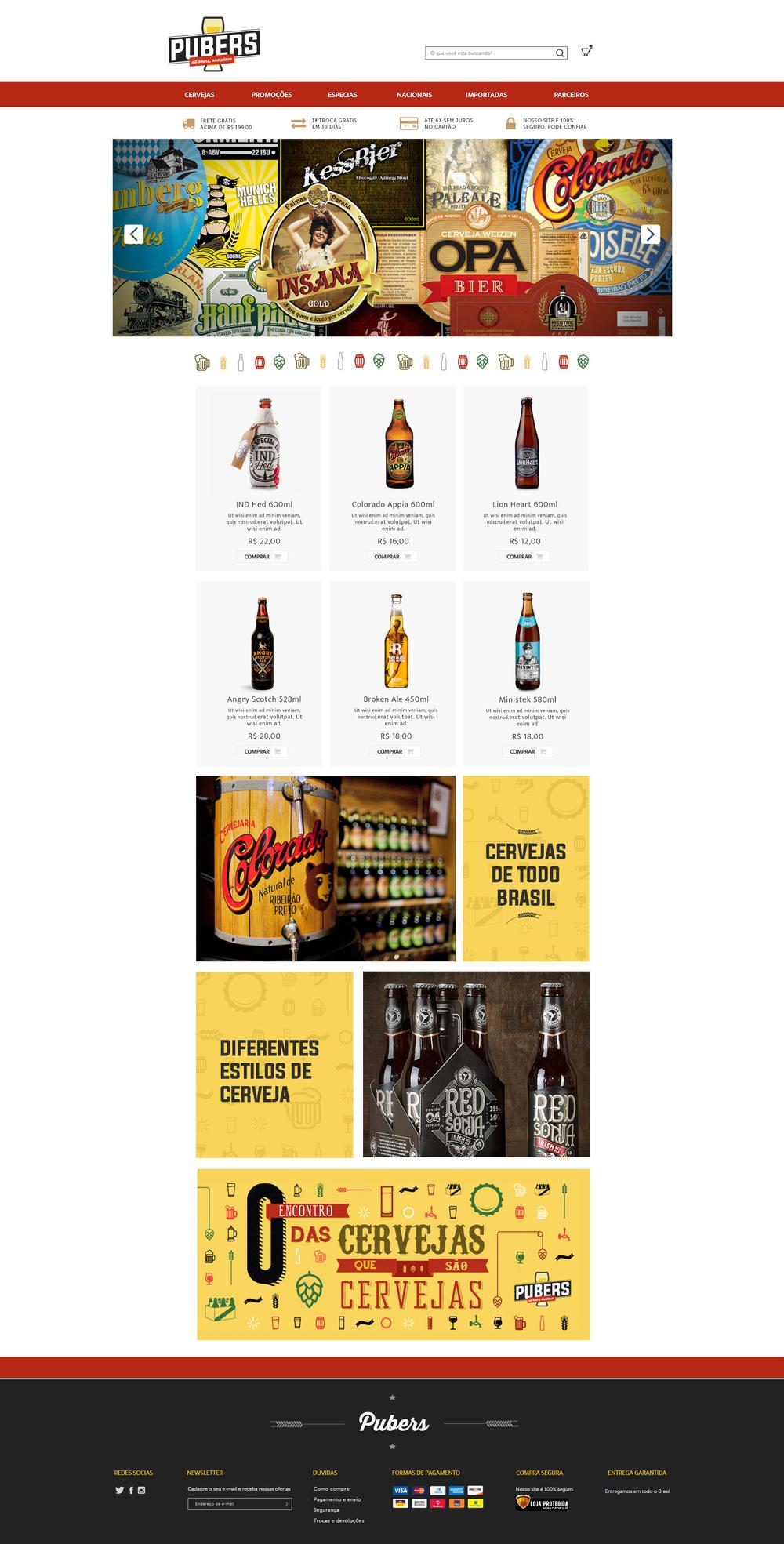 O espaço tem a proposta de ser uma nova forma de consumir cerveja online. Para acessá-lo clique na imagem
