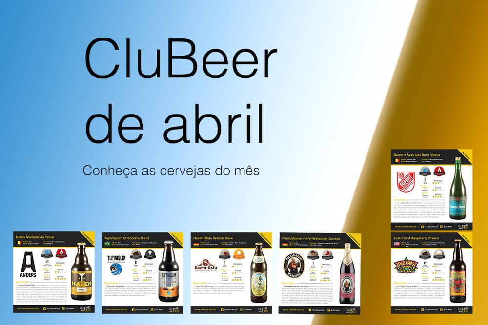 Confira na seção da Beer Artas fichas com detalhes das cervejas dos dois kits do mês