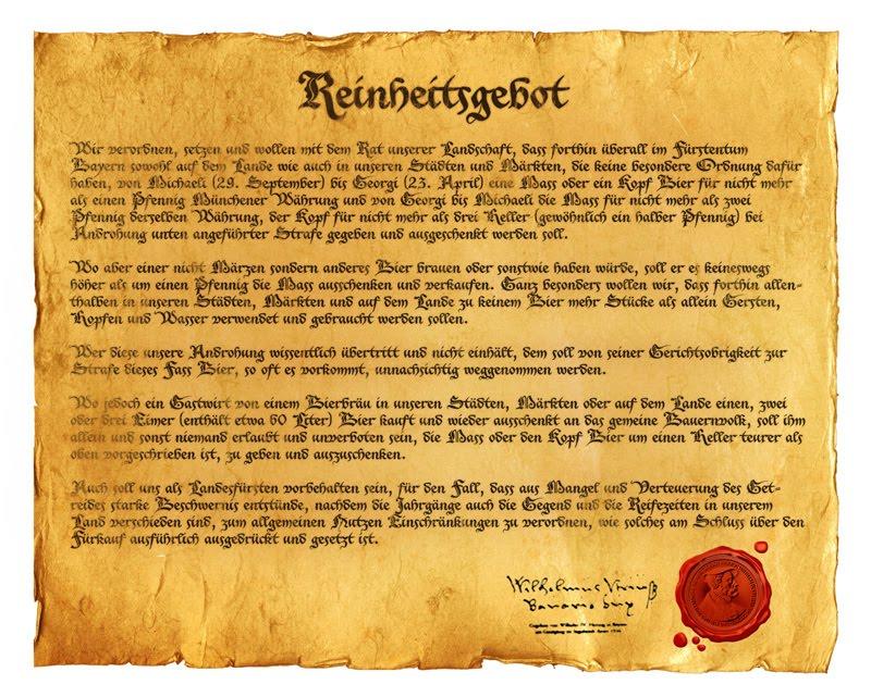 Decretada em 1516, a Reinheitsgebot mantém sua influência cinco séculos depois