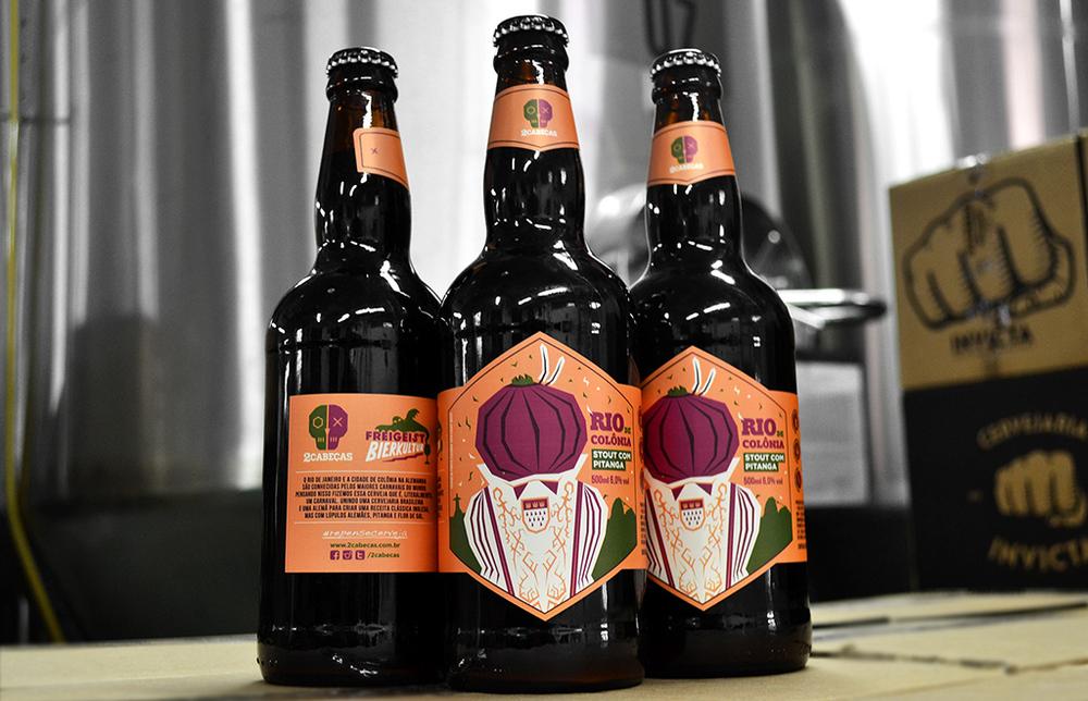 Cerveja é feita em conjunto com Sebastian Sauer, um alemão apaixonado pelas frutas brasileiras (Foto: Divulgação)