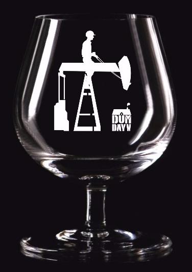 A taça de cristal produzida para o evento está entre as novidades do DUM DAY 2015 (Foto: Divulgação)