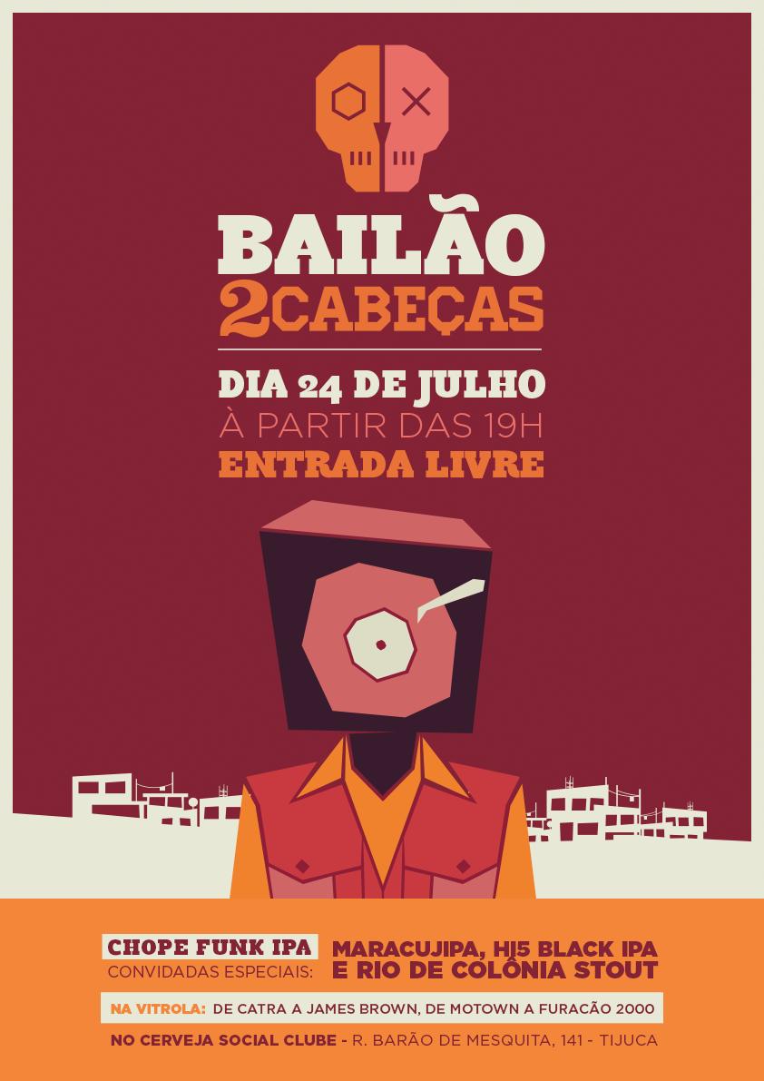 O encontro da cerveja com o Funk será no Cerveja Social Clube, a partir das 19h (Foto: Divulgação)