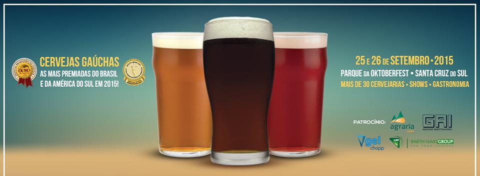 Mais de30 cervejarias do Rio Grande do Sul estarão presentes no evento (Foto: Divulgação)