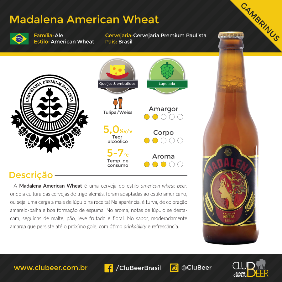 Madalena American Wheat