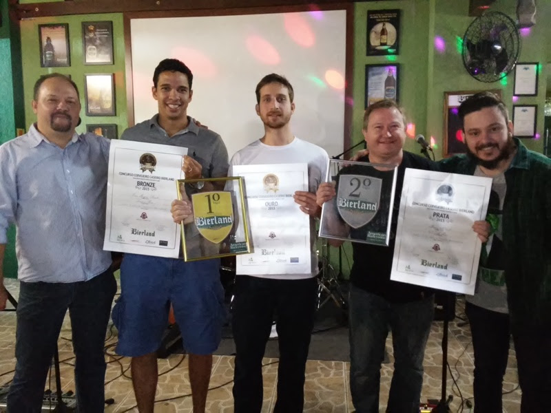 Os vencedores receberão diversos prêmios, e o primeiro lugar terá a sua cerveja produzida pela Bierland (Foto: Divulgação)