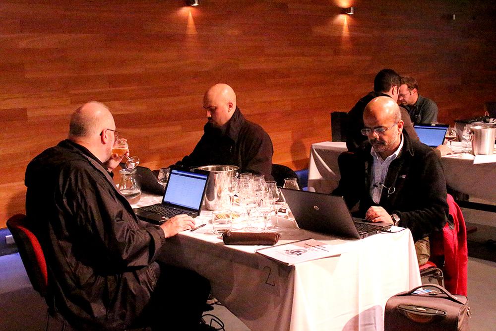 O julgamento das amostras é registrado em tempo real na plataforma desenvolvida pela Copa (Foto: Sarah Buogo/Beer Art)