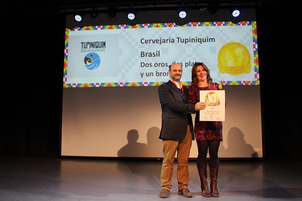 Tupiniquim, de Porto Alegre (RS), é apontada como a grande vencedora, com dois ouros, duas pratas e um bronze (Foto: Sarah Buogo/Beer Art)