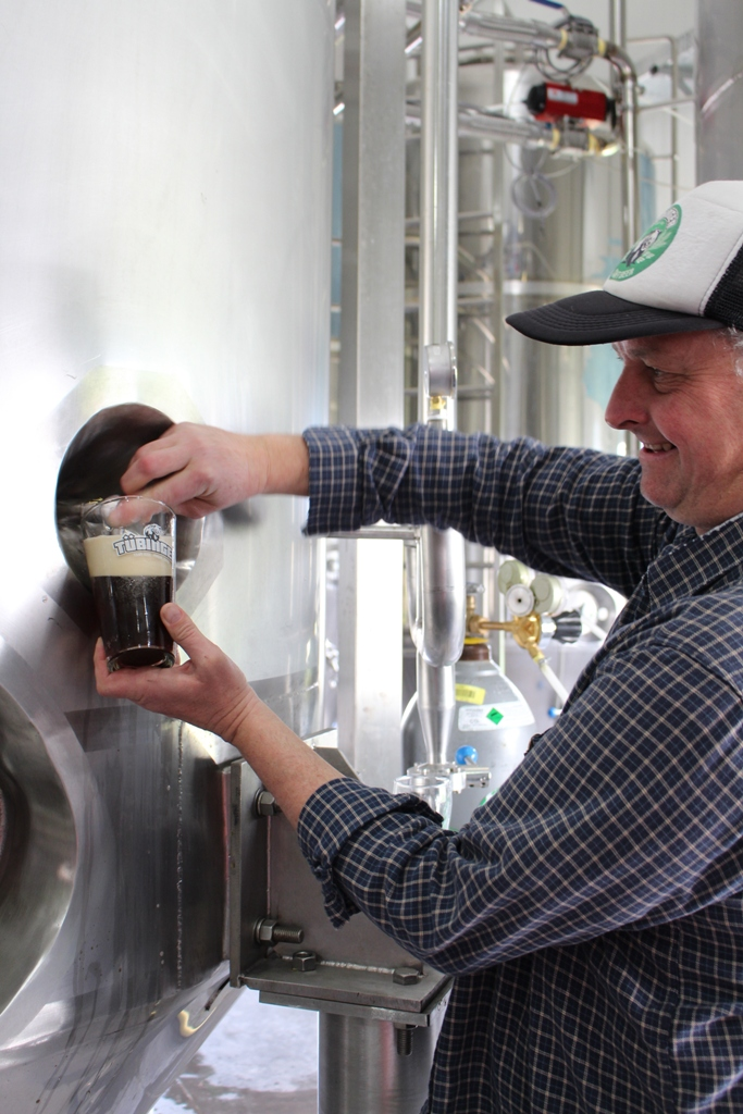Christoph Flaskamp fundador e mestre-cervejeiro da Tübinger (Foto: Sarah Buogo / Revista Beer Art)