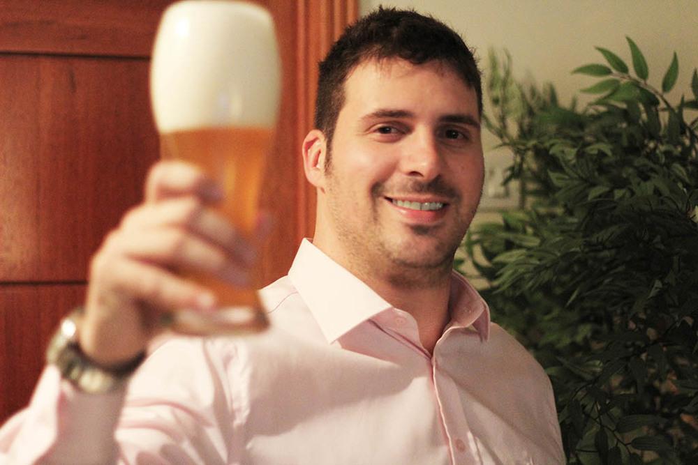 Vinicius Ferreira ressalta que os rótulos muitas vezes são a única forma de comunicação de que a cerveja dispõe (Foto: Divulgação)