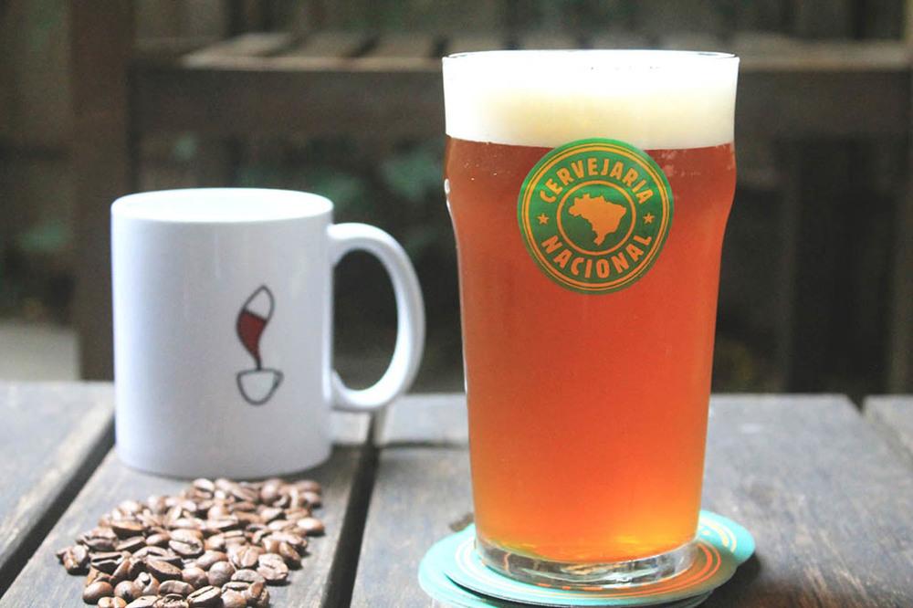 India Pale Ale com adição de duas variedades de café é resultado da parceria entre a Nacional, Doug Odell, Tarantino Brewers e Coffe Lab (Foto:Mariana Buck/Divulgação)