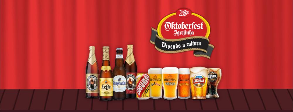 Serão 5 opções engarrafadas e 5 de chope na festa em Igrejinha/RS (Foto: Divulgação)