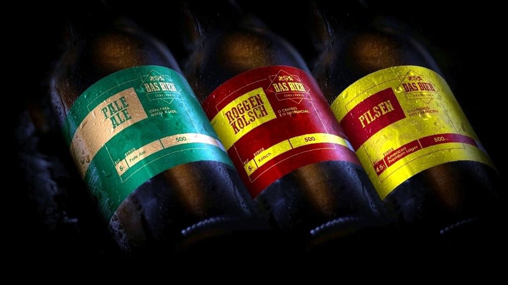 Cervejaria apresenta o design dos rótulos do produto que passará a ser engarrafado em dezembro (Foto: Divulgação)