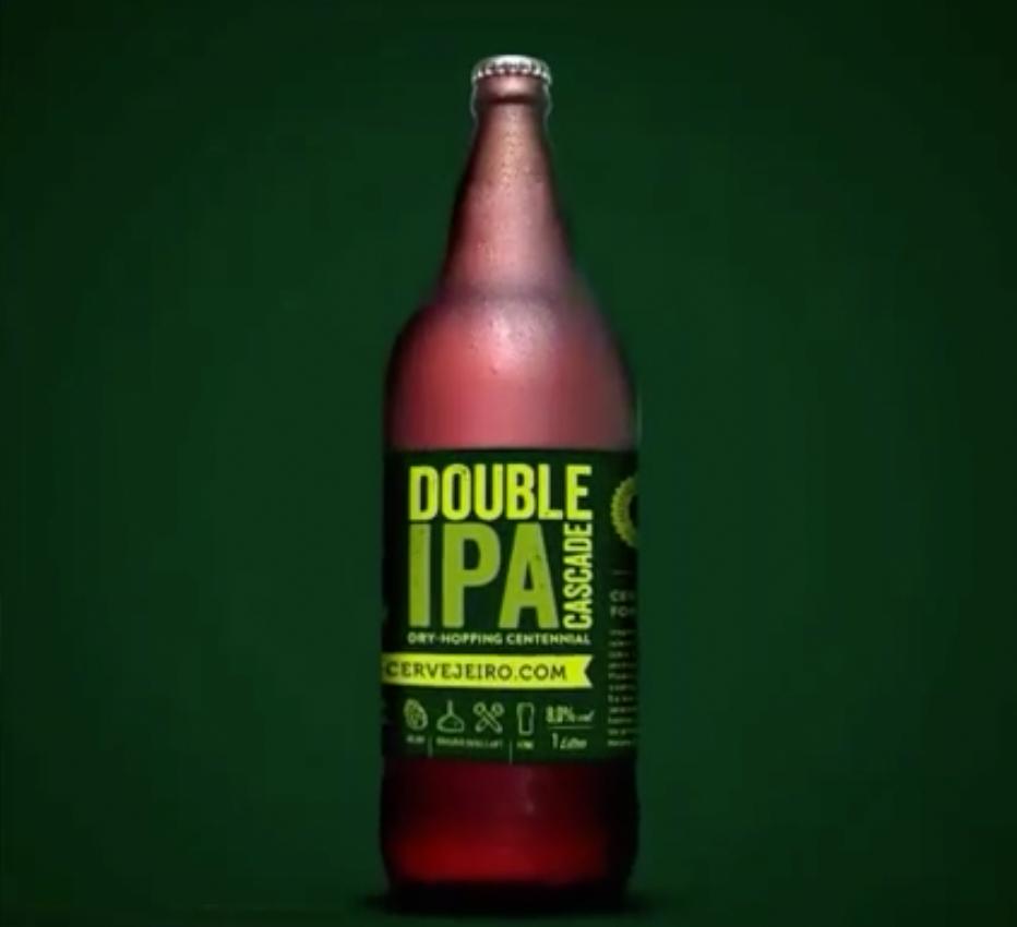 É a primeira Double IPA em litrão no Brasil (Foto: Reprodução/MC)