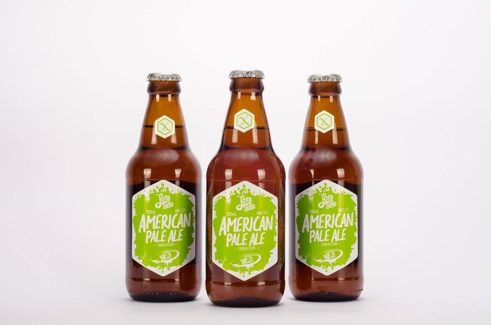 Projeto da Lake Side Beer é recriar, em versão gluten free, cervejas consagradas como a Way APA (Foto: Divulgação)