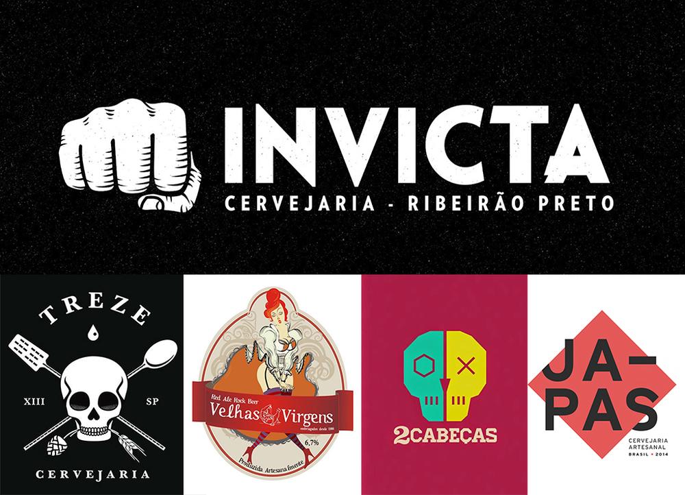 Uma das metas é o grupo Invicta chegar no próximo ano a 50 rótulos de linha distribuídos entre as cinco marcas (Fotos: Divulgação)