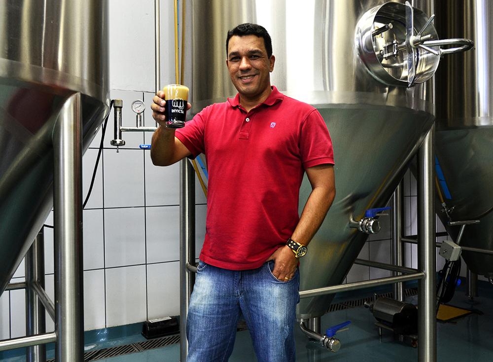 Rodrigo Silveira, da Invicta, conduz mudança da marca, ampliação da fábrica e aquisição de parte de outras cervejarias (Foto: Divulgação)