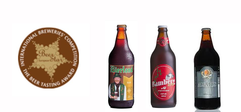 Cervejas brasileiras venceram em estilos germânicos e da região da Boêmia, superando cervejarias alemãs (Fotos: Divulgação)