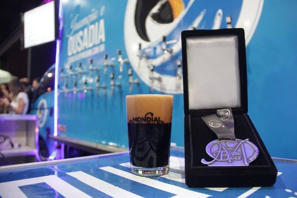 A medalha principal, a de platina, foi conquistada pela cervejaria Tupiniquim, com a Monjolo BA Wiskey (Foto: Divulgação)