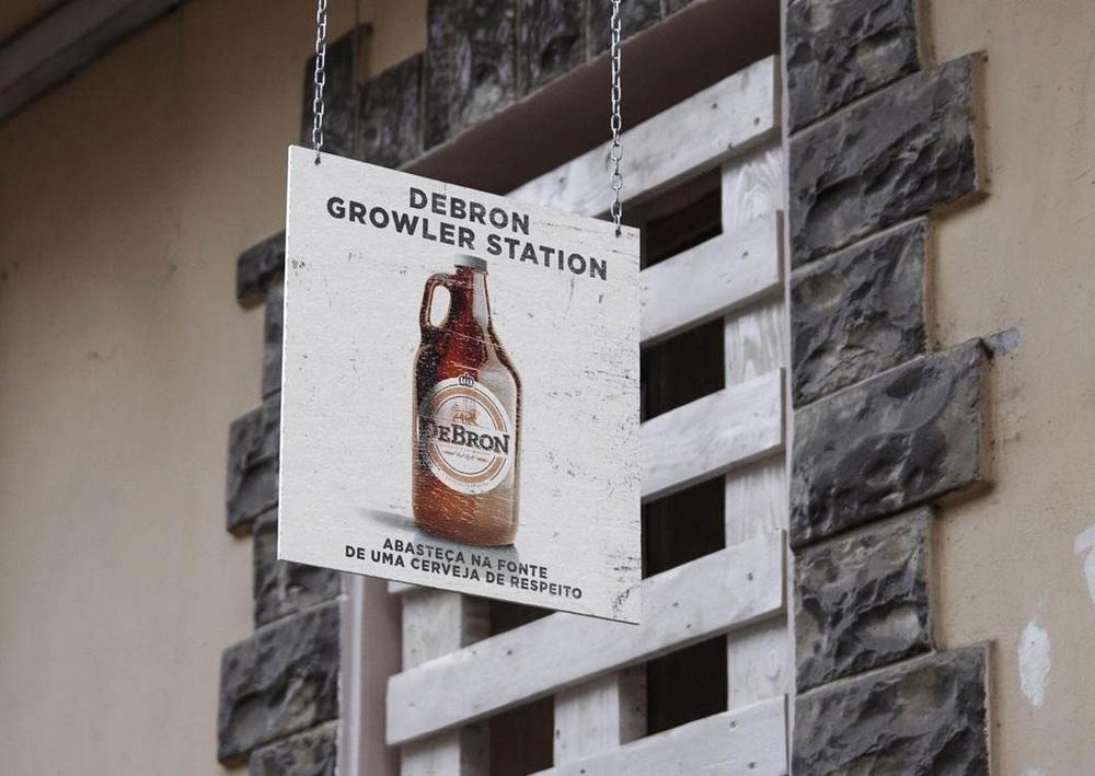 Em setembro, fábrica da DeBron teve o 1º Growler Day (Foto: Divulgação)