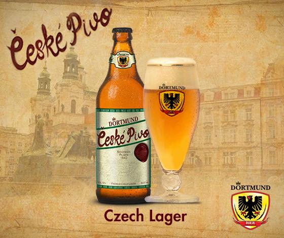Nova cerveja da Dortmund é uma típica Bohemian Pilsener, bem carregada de lúpulo Saaz (Foto: Divulgação)