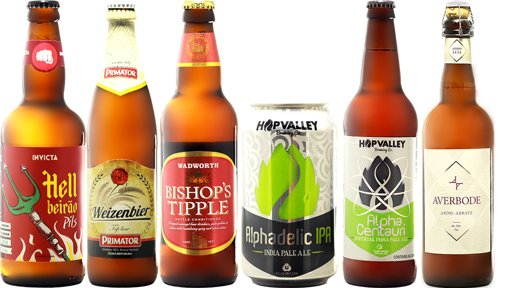 Para conferir as histórias das cervejarias e as fichas das cervejas, clique aqui (Fotos: Divulgação)