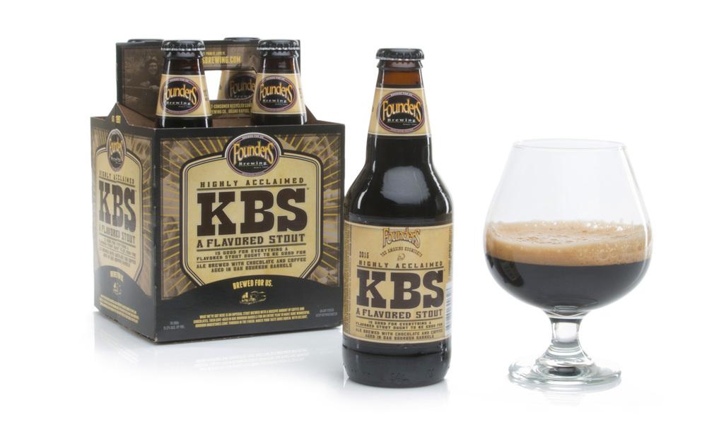 KBS é uma lendária cerveja da Founders (Foto: Divulgação)