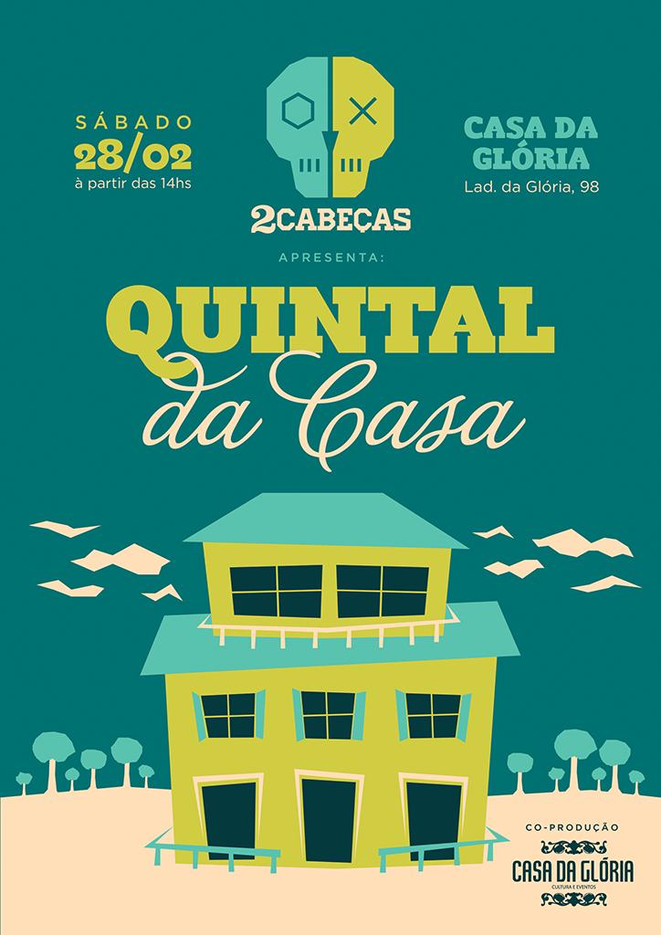 Em chope, cinco rótulos da 2cabeças são servidos no evento Quintal da Casa (Foto: Divulgação)
