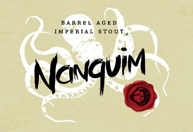 Maturada durante 10 meses em barris de Vinho do Porto, a Nanquim tem teor alcoólico de 12,05% (Foto: Divulgação)
