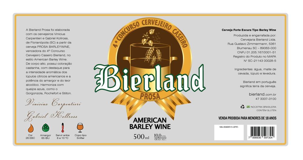 Receita é de Vinicius Carpentieri e Gabriel Kollross, vencedores da quarta edição do concurso da cervejaria de Blumenau (Foto: Divulgação)