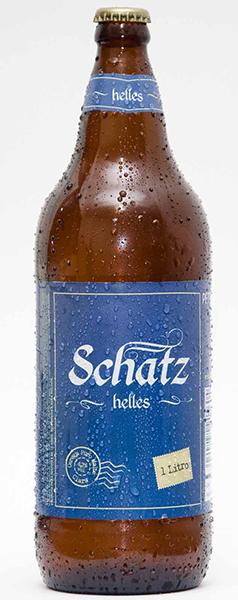 Refrescante, a Schatz Helles tem 4,6% de teor alcoólico (Foto: Divulgação)