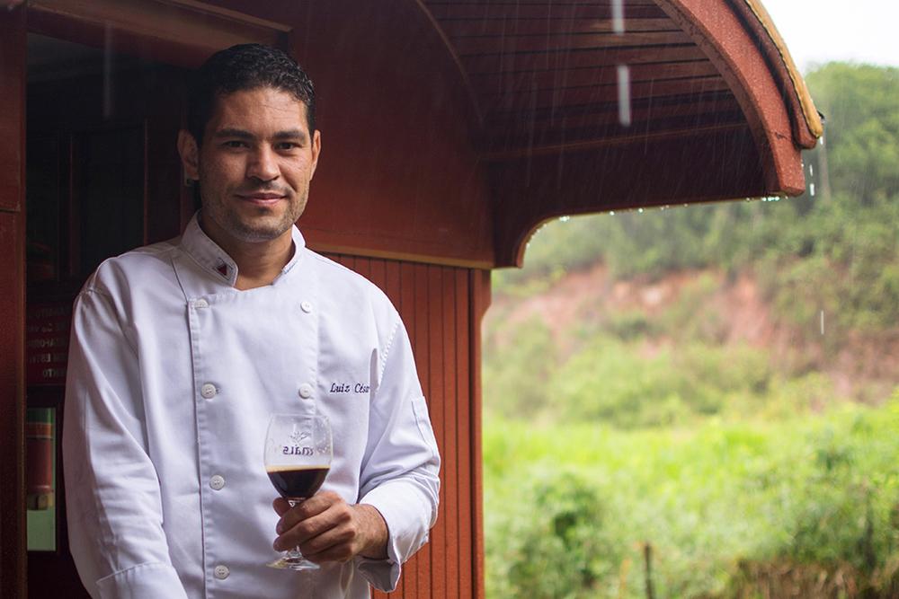 O empresário e chef de cozinha Luiz César Costa é o idealizador do O TremBier (Foto: Divulgacão)