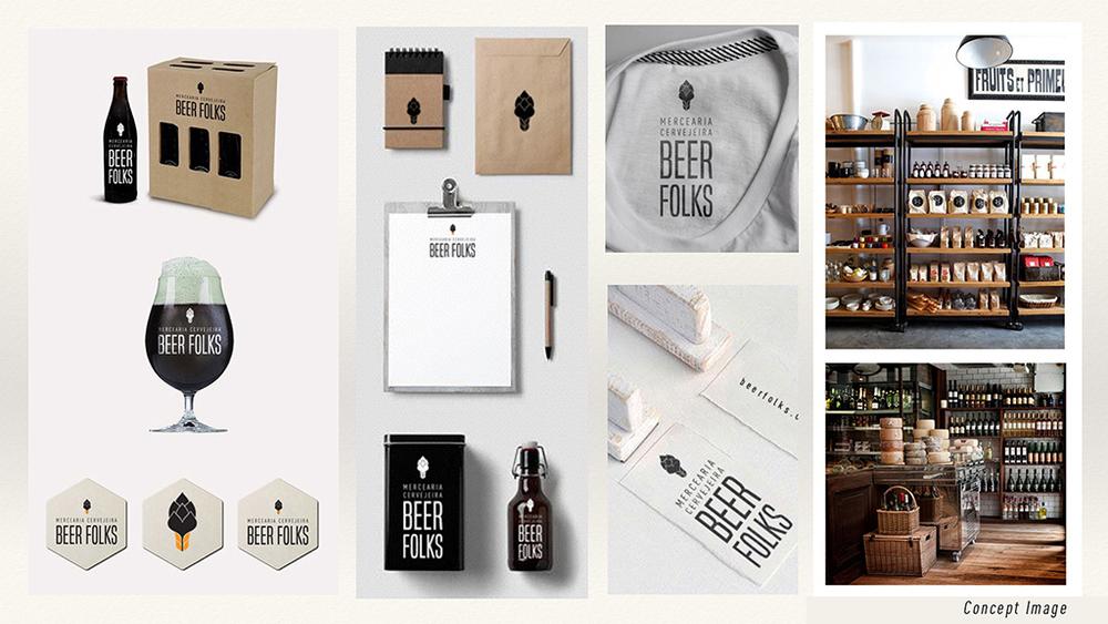 O catálogo da Beer Folks começa com cervejas do Vale Europeu e alemãs, copos, souvenirs, além dos produtos personalizados da própria marca (Foto: Divulgação)