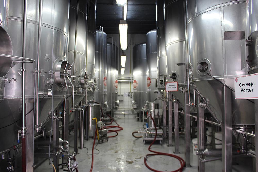 Detalhe da fábrica da Ashby em Amparo/SC (Foto: Sarah Buogo)