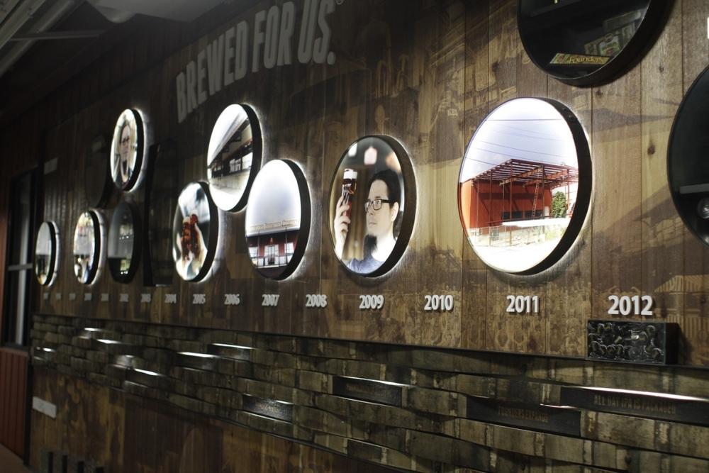 """Founders, com o lema """"Brewed for us"""", é uma das cervejarias mais expressivas da revolução artesanal americana (Foto: Altair Nobre/Beer Art)"""