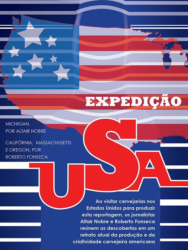 Reportagens nos EUA, feitas por Altair Nobre e Roberto Fonseca, são o destaque de capa