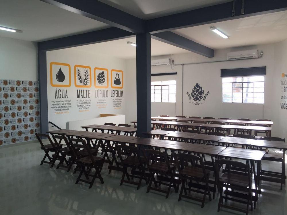 Aulas serão ministradas em instalações da Cervejaria Premium Paulista, da marca Madalena (Foto: Divulgação)