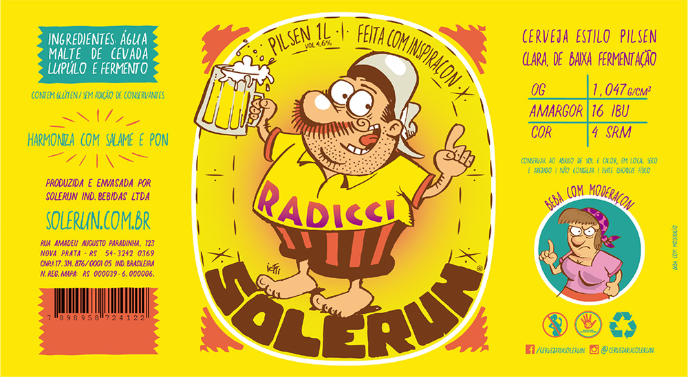 """A cervejaria descreve a cerveja como """"uma Pilsen sem frescura, com paladar acentuado de malte e lúpulo herbal provocante"""" (Foto: Divulgação)"""