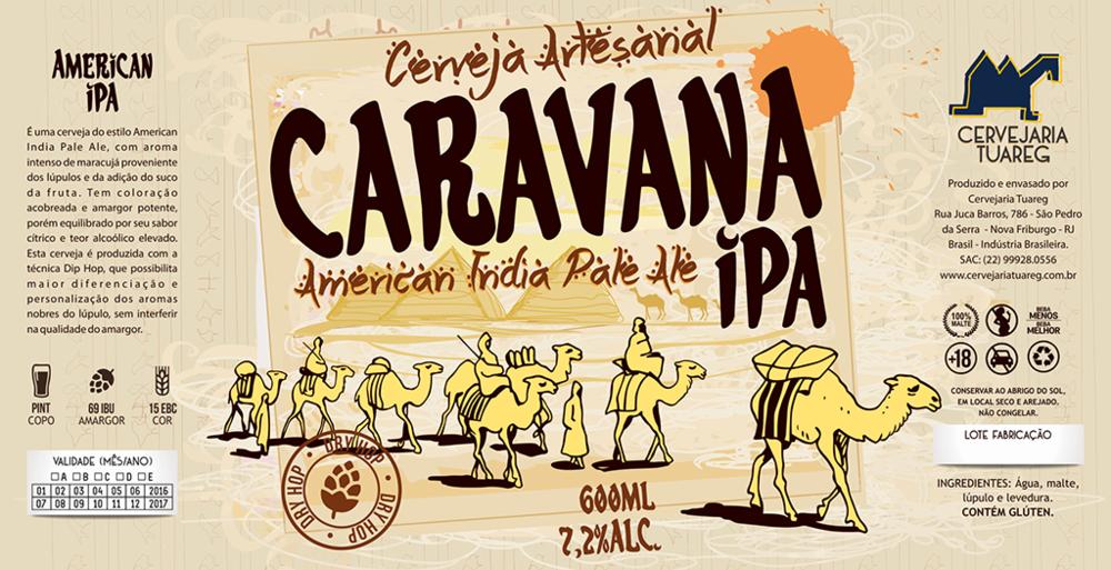 Rótulo desenvolvido pela Agência Alvo, de Bento Ferreira, editor do blog de design da Beer Art e criador do curso de extensão (Foto: Divulgação)