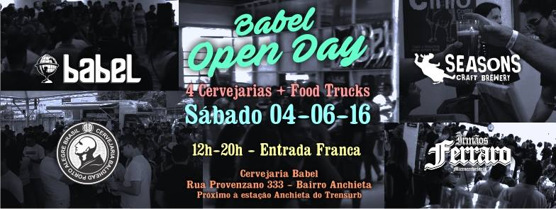 Evento tem as cervejarias convidadas Baldhead,Irmãos Ferraro e Seasons (Foto: Divulgação)