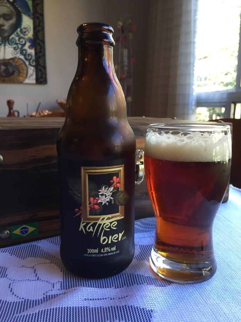O processo de produção da Kaffee Bier usa infusão a frio (Cold Brew) do café (Foto: Altair Nobre/Beer Art)