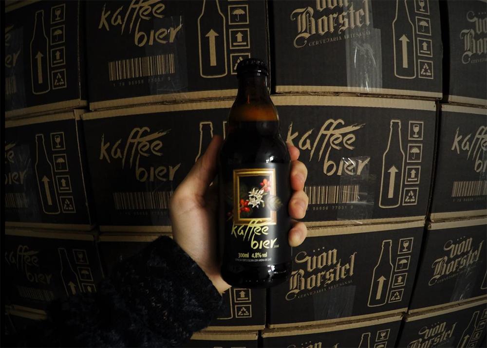 Ao participar de projeto do Sebrae, cervejaria de Londrina/PR teve 10 meses de testes para formular a receita e adicionar o café(Foto: Divulgação)